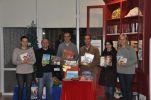 Continuar... Fundação doa 300€ à Biblioteca
