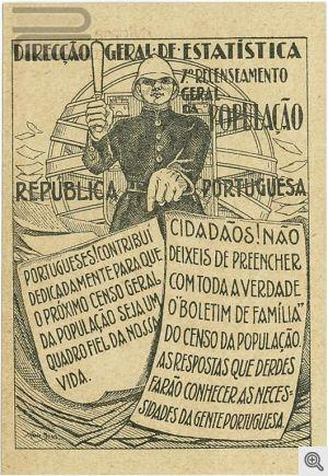 Publicidade ao censo de 1930