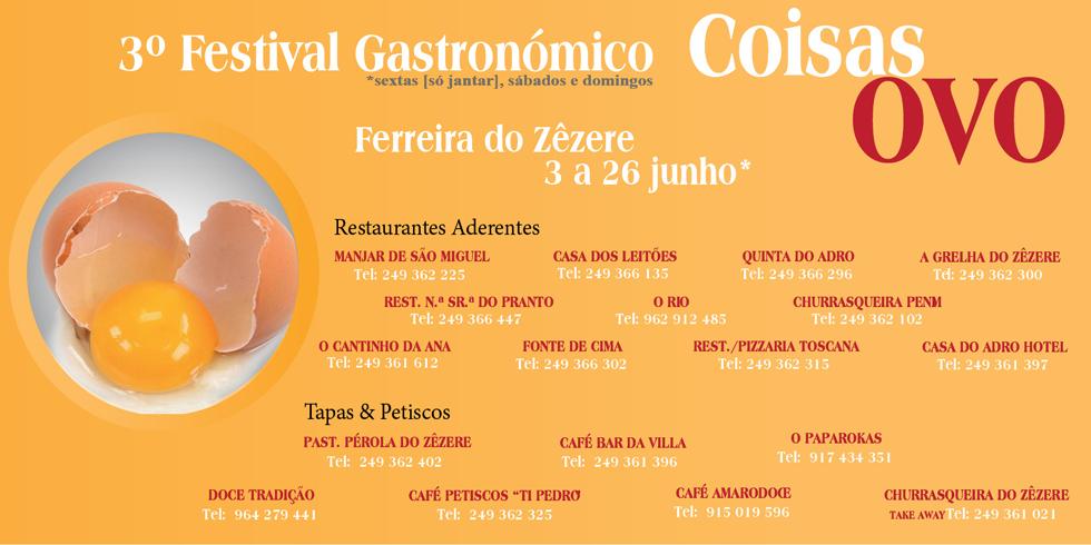 3º Festival Gastronómico Coisas OVO