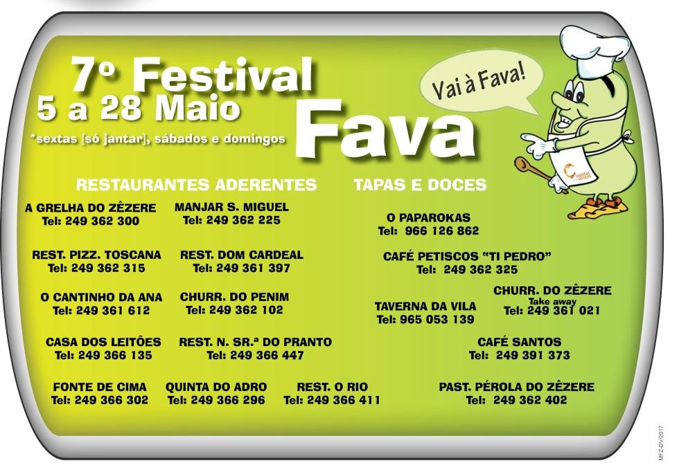 7º Festival Gastronómico da Fava