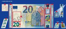 Continuar... Nova nota de 20 euros - série