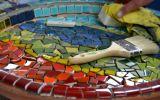 Continuar... Oficina de mosaicos na Biblioteca