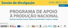 Continuar... Sessão de Divulgação Programa de Apoio à Produção Nacional