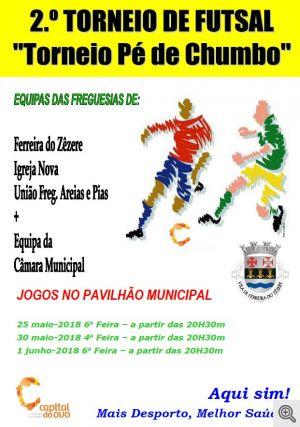 2º Torneio de Futsal Pé de Chumbo